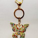 Llavero Mariposa Multicolor