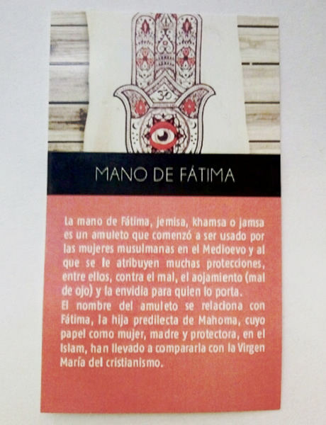 Dije Mano de Fatima 3